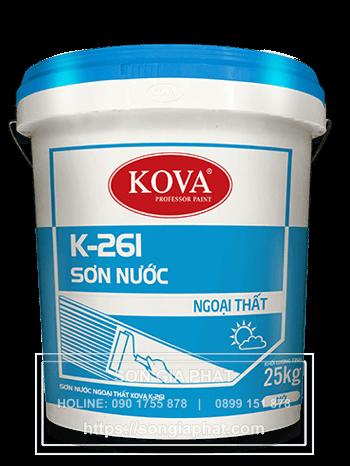 son-ngoai-troi-kova-k261-gold