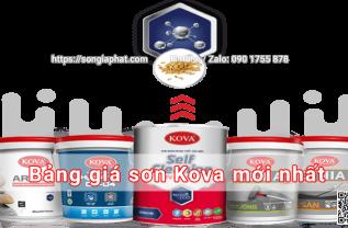 bang-gia-son-kova-moi-nhat-songiaphat.com